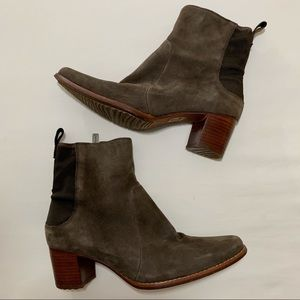 Timberland Tasa Suede Ankle Boots